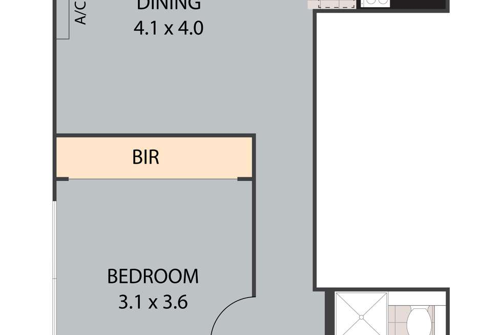 Floorplan of Homely unit listing, 12/59 Sandford Street, St Lucia QLD 4067