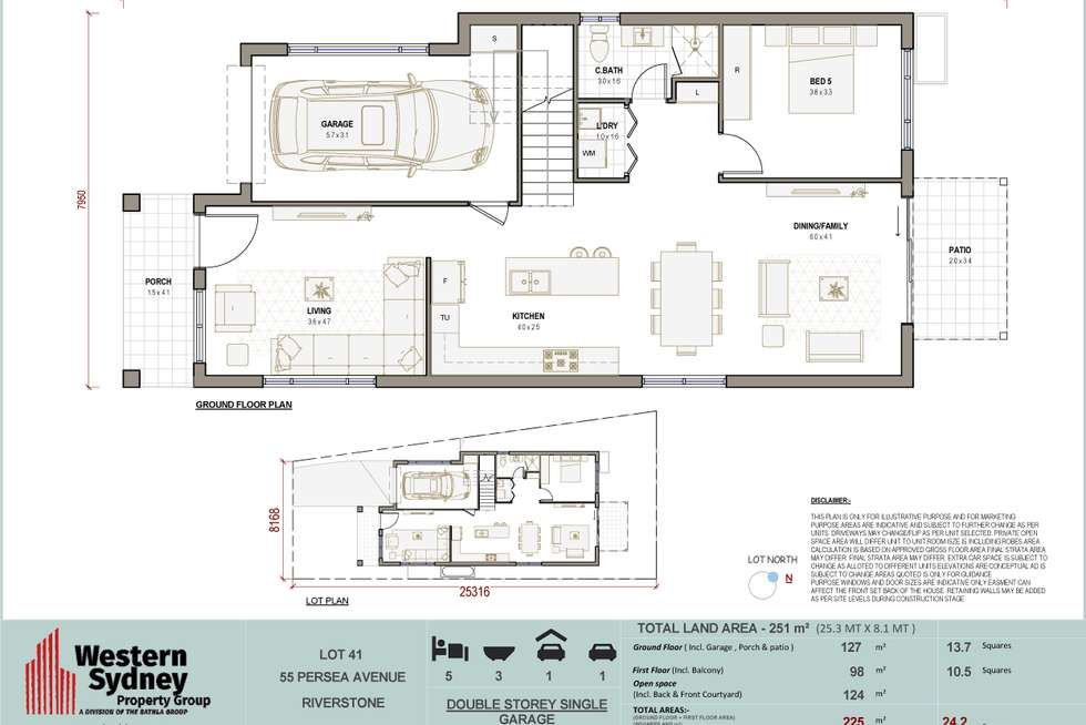 Floorplan of Homely house listing, 55 Persea Avenue, Riverstone NSW 2765