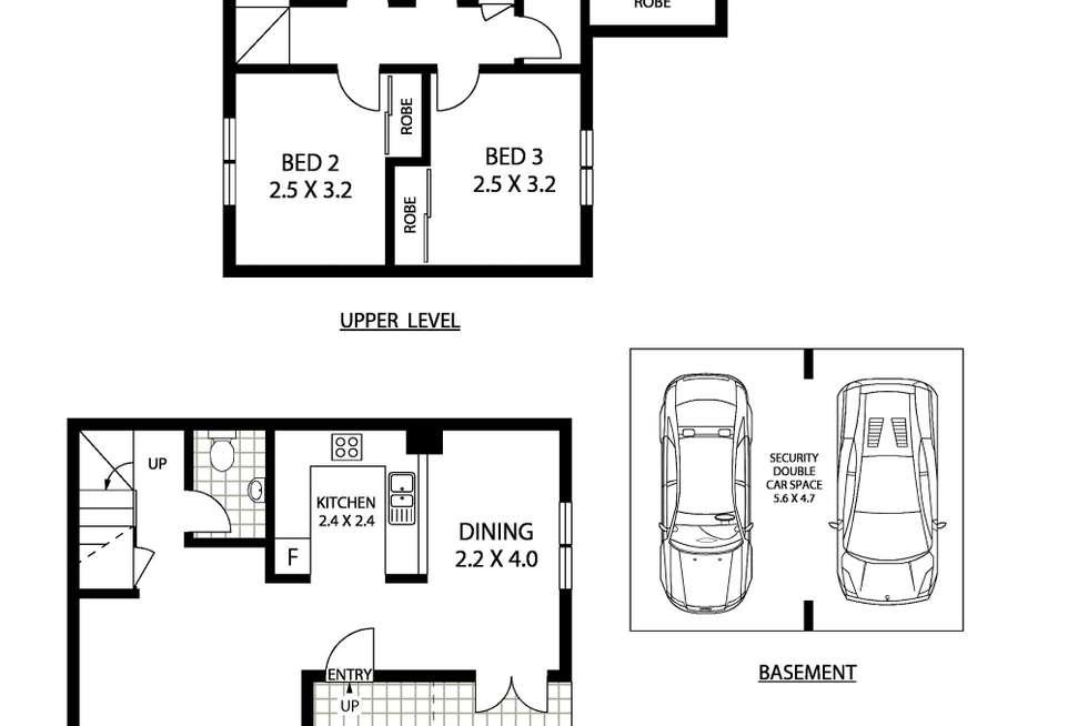 Floorplan of Homely apartment listing, 32/21-23 Norton Street, Leichhardt NSW 2040