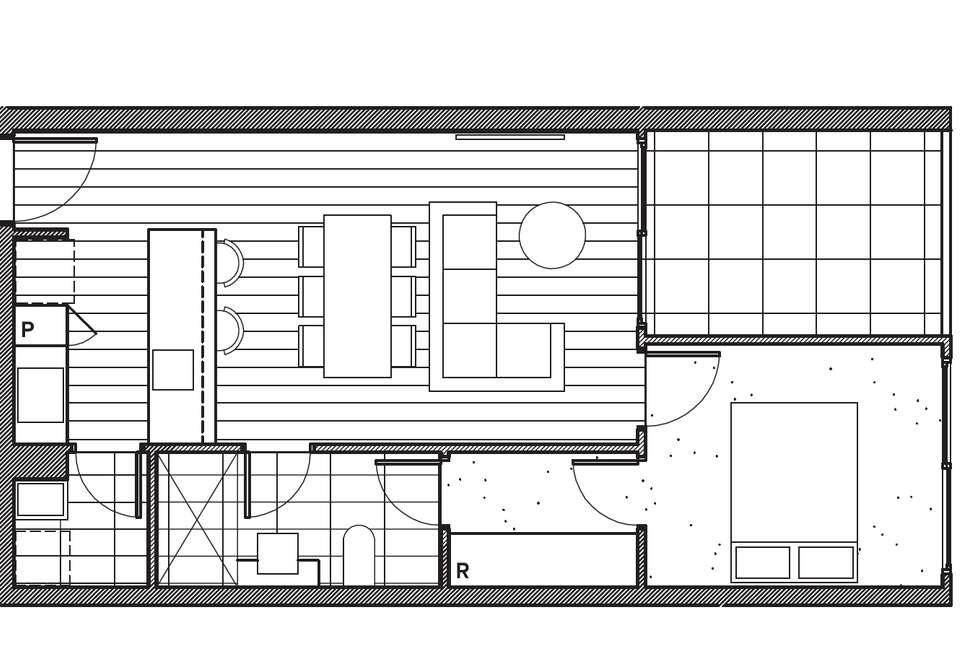 Floorplan of Homely apartment listing, 110/60 Islington Street, Collingwood VIC 3066