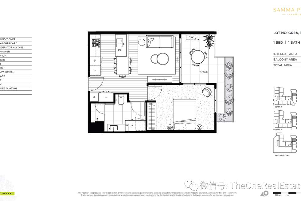 Floorplan of Homely apartment listing, 87-131 Bell Street, Ivanhoe VIC 3079