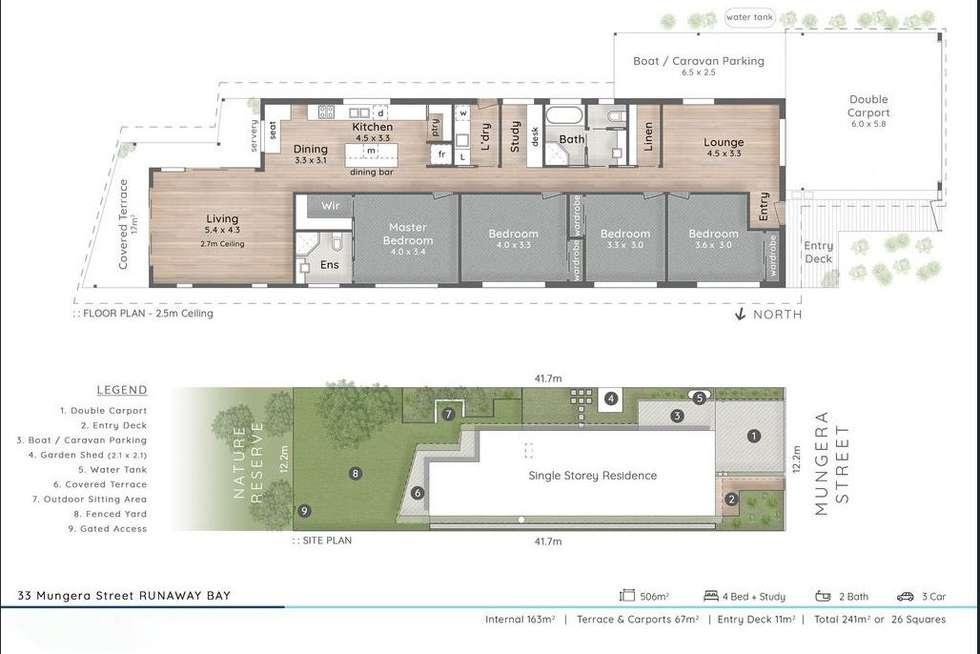 Floorplan of Homely house listing, 33 Mungera Street, Runaway Bay QLD 4216