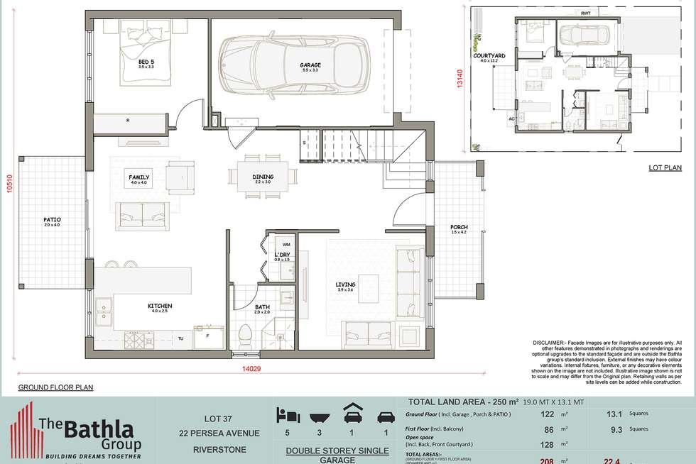 Floorplan of Homely house listing, 22 Persea Avenue, Riverstone NSW 2765