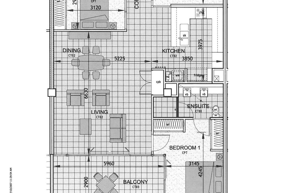 Floorplan of Homely apartment listing, 52/45 Gregory Street, North Ward QLD 4810