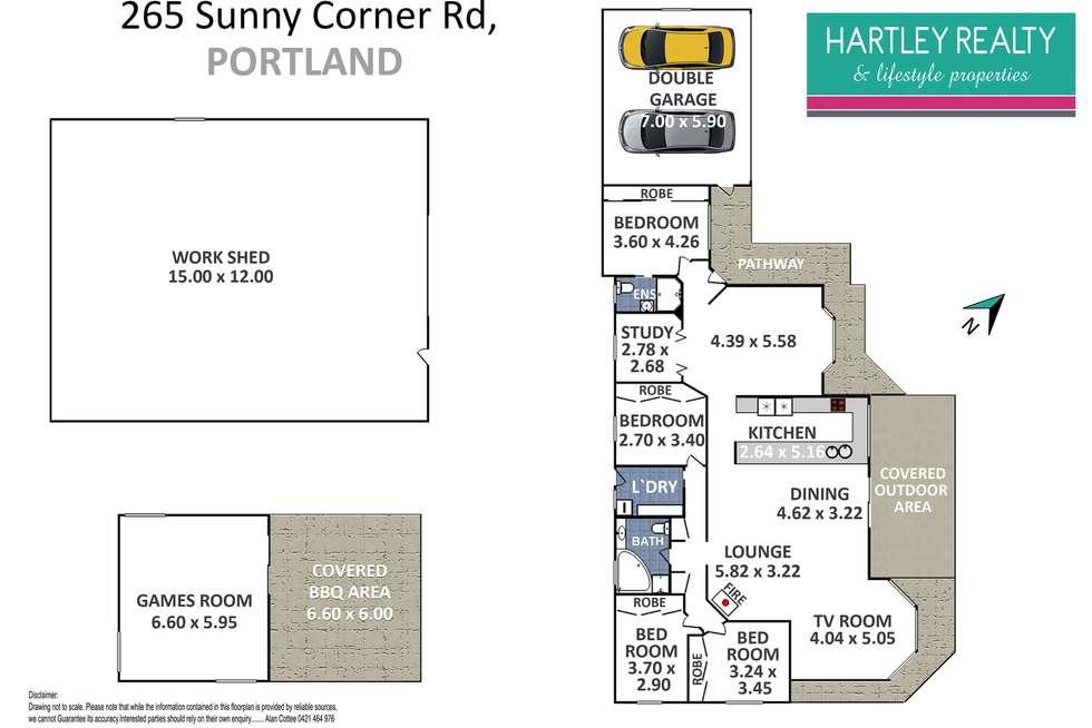 Floorplan of Homely acreageSemiRural listing, 265 Portland Sunny Corner Road, Portland NSW 2847