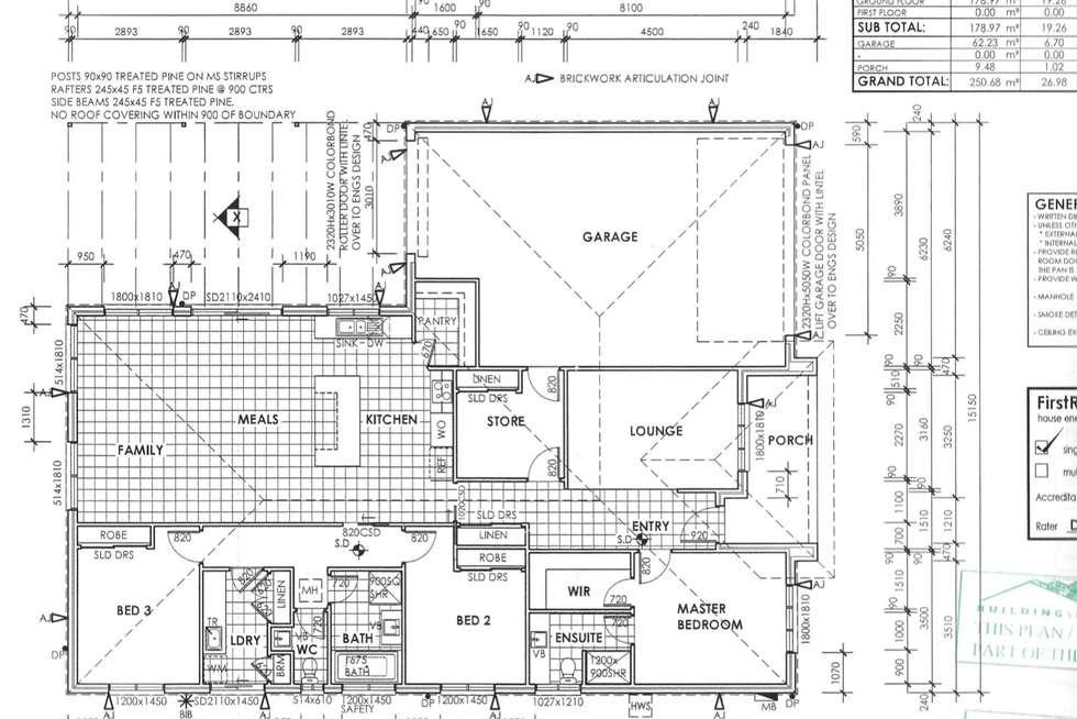 Floorplan of Homely house listing, 6 CORNFLOWER STREET, Pakenham VIC 3810