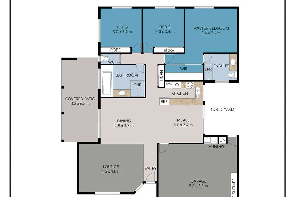 Floorplan of Homely house listing, 71 Numbat Court East, Coombabah QLD 4216