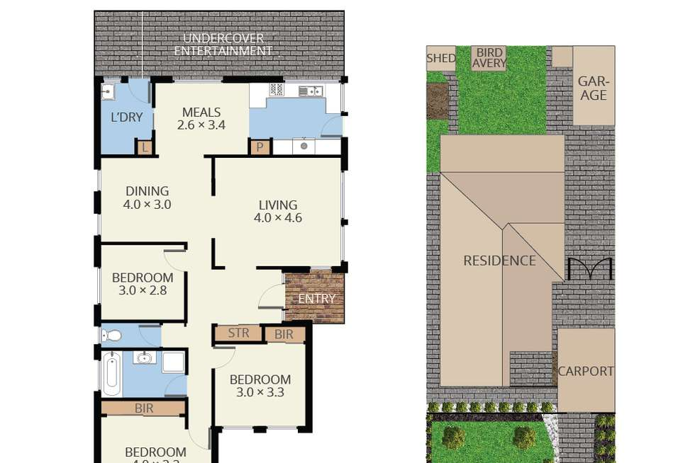 Floorplan of Homely house listing, 19 Serpentine Road, Keysborough VIC 3173