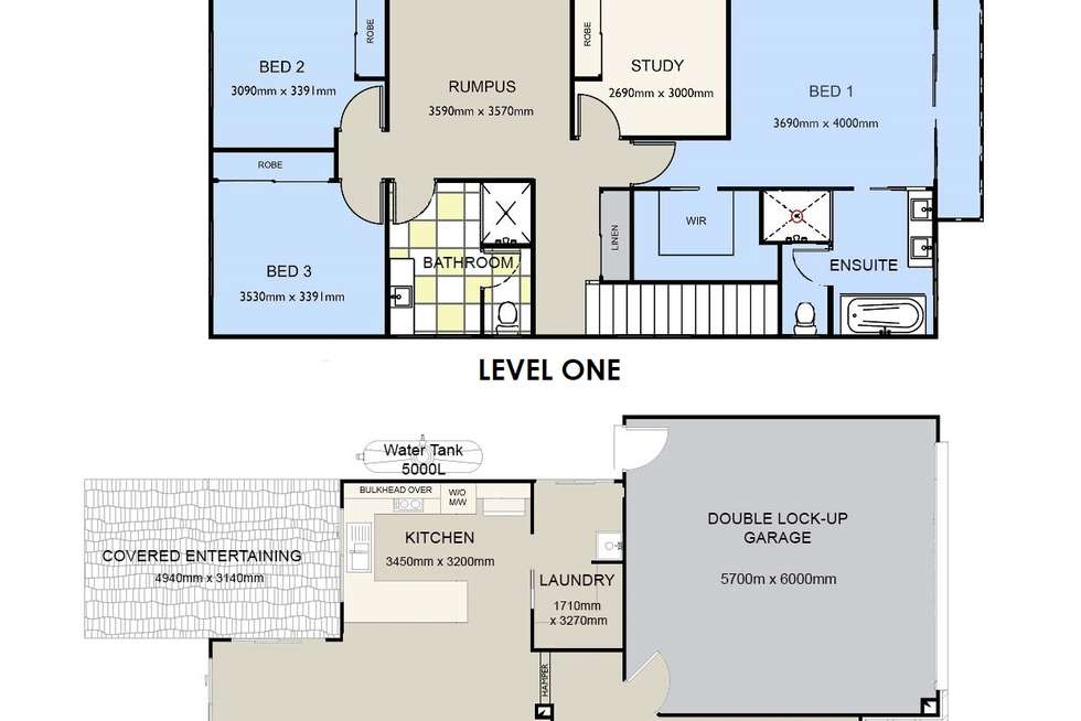 Floorplan of Homely house listing, 36 DONALD STREET, Woody Point QLD 4019