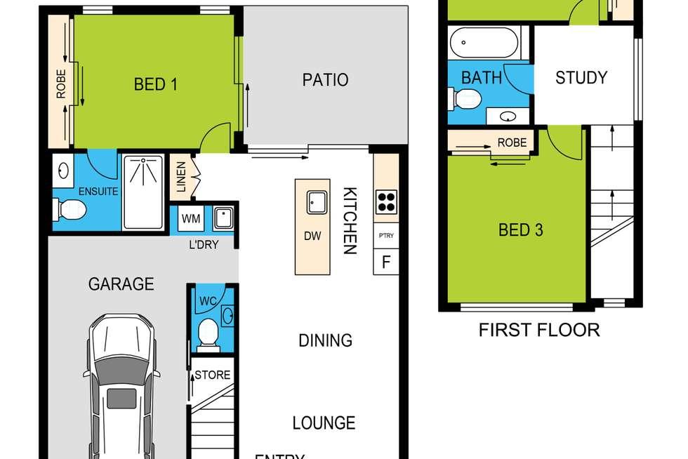 Floorplan of Homely unit listing, 21/20 Oakwood Road, Warner QLD 4500