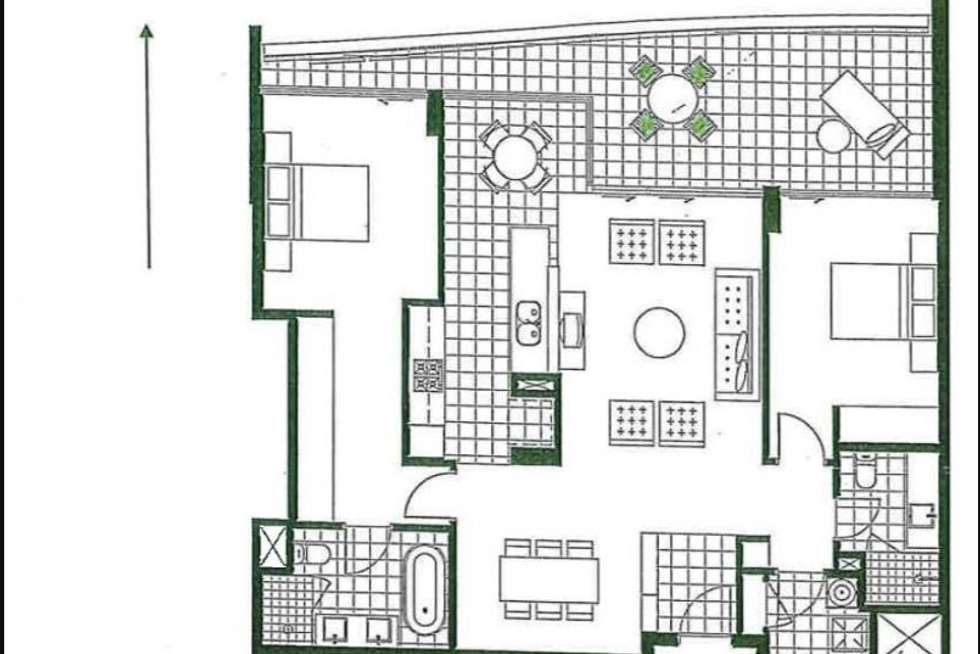 Floorplan of Homely apartment listing, 901/19 The Circus, Burswood WA 6100
