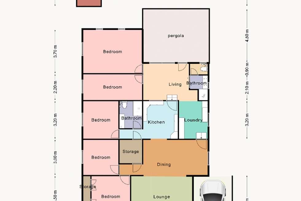 Floorplan of Homely house listing, 46 Marlene Street, Mount Gravatt East QLD 4122