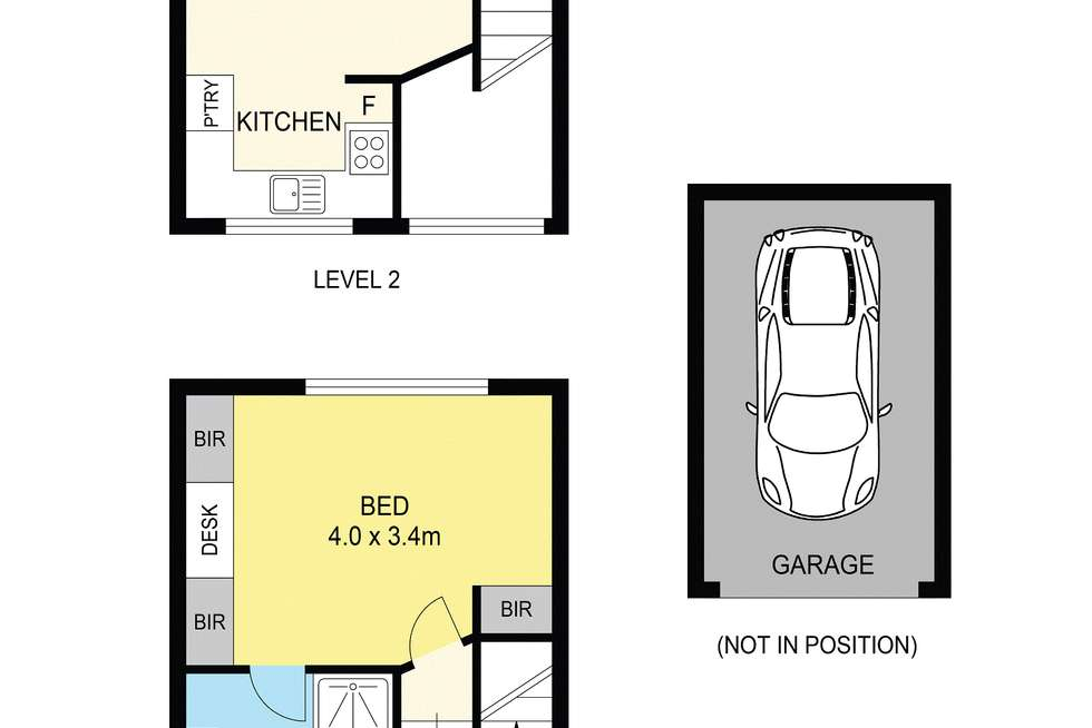 Floorplan of Homely apartment listing, 3/80 Napier Crescent, Essendon VIC 3040