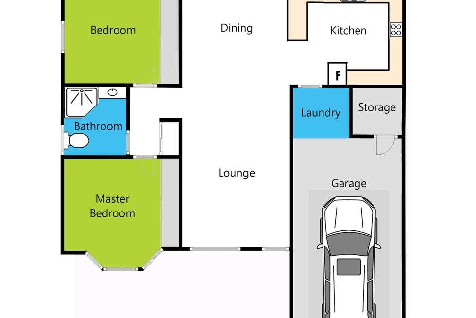 Floorplan of Homely unit listing, 80/101 Grahams Road, Strathpine QLD 4500