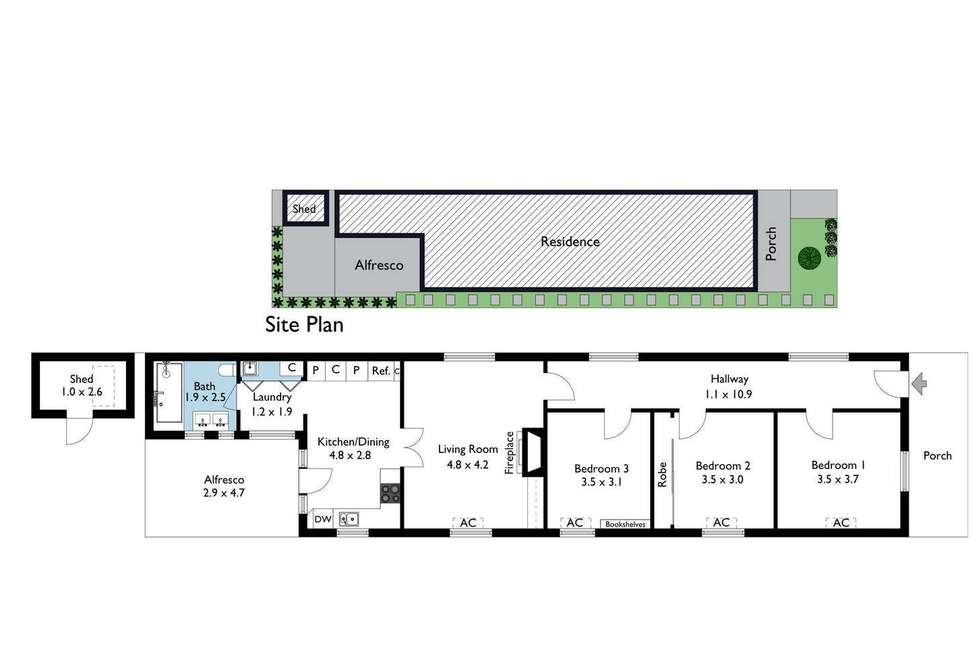 Floorplan of Homely house listing, 46 LORD STREET, Richmond VIC 3121