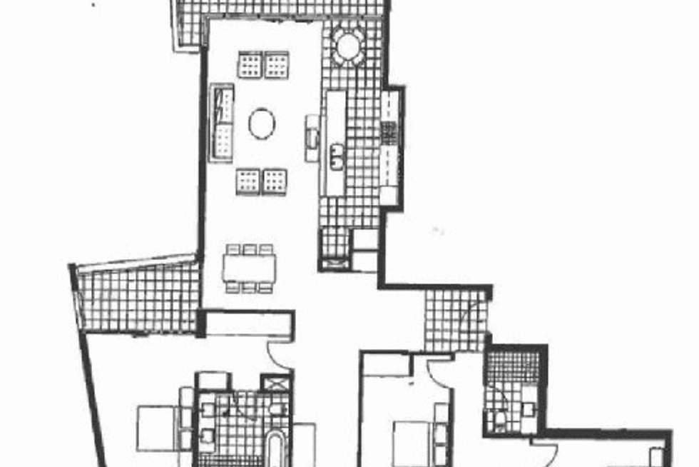 Floorplan of Homely apartment listing, 1107/30 The Circus, Burswood WA 6100