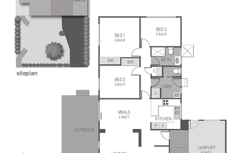 Floorplan of Homely house listing, 14 Adelaide Street, Mornington VIC 3931