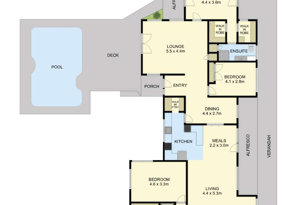 Floorplan of Homely acreageSemiRural listing, 1 Edzell Road, Clematis VIC 3782