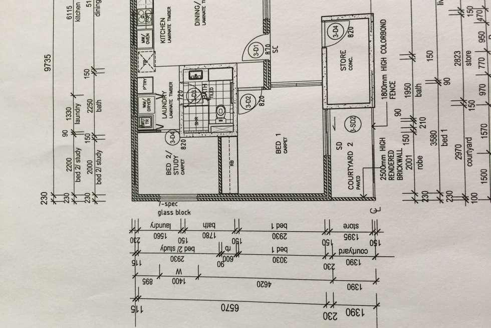 Floorplan of Homely villa listing, 3/8 Salisbury Road, Rivervale WA 6103