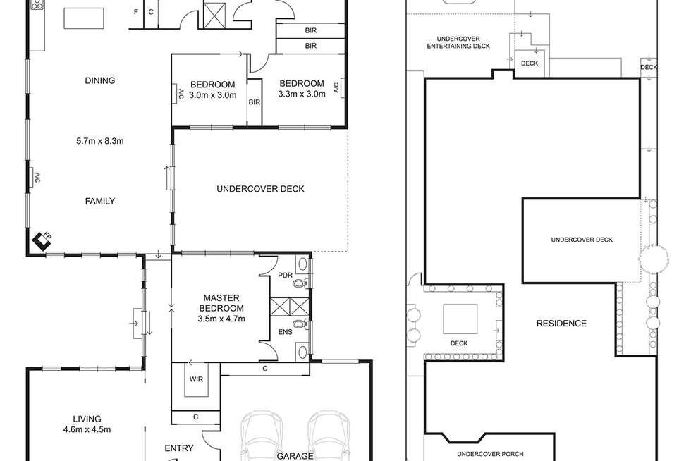Floorplan of Homely house listing, 51 York Street, Strathmore VIC 3041