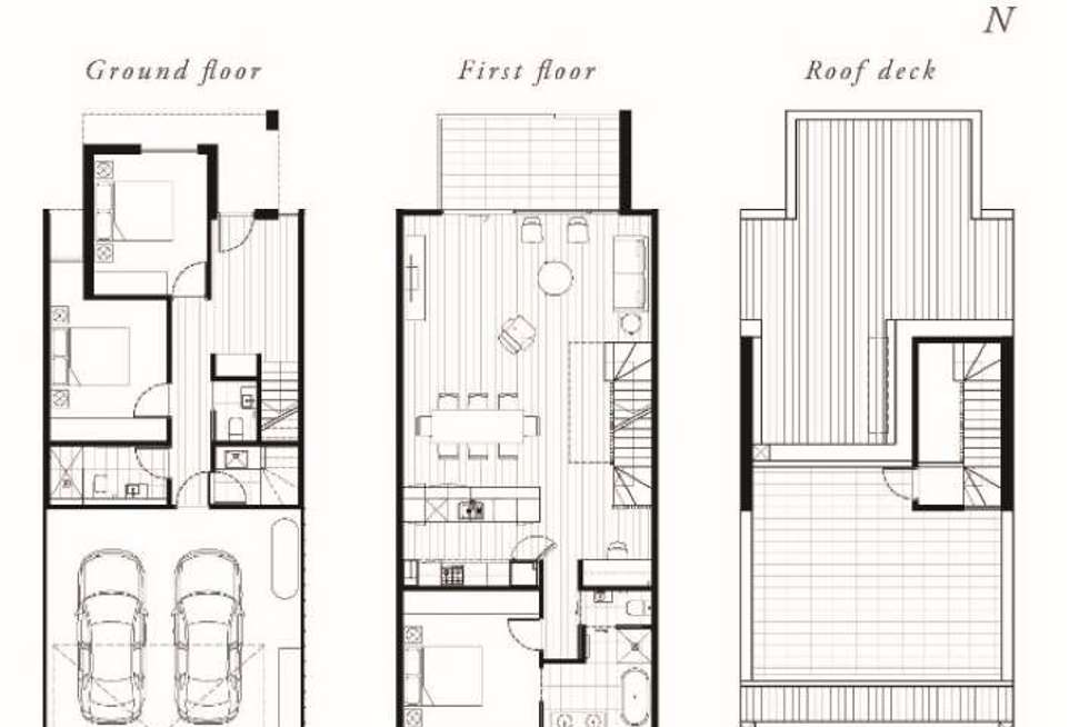Floorplan of Homely townhouse listing, Townhouse at Huntingdale Road, Mount Waverley VIC 3149