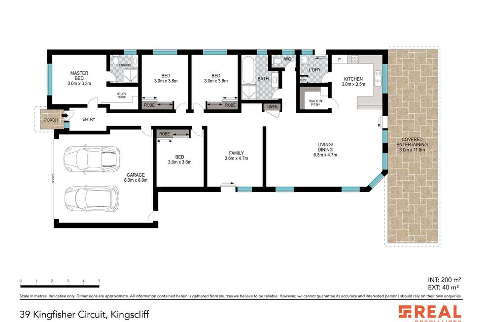 Floorplan of Homely house listing, 39 Kingfisher Circuit, Kingscliff NSW 2487