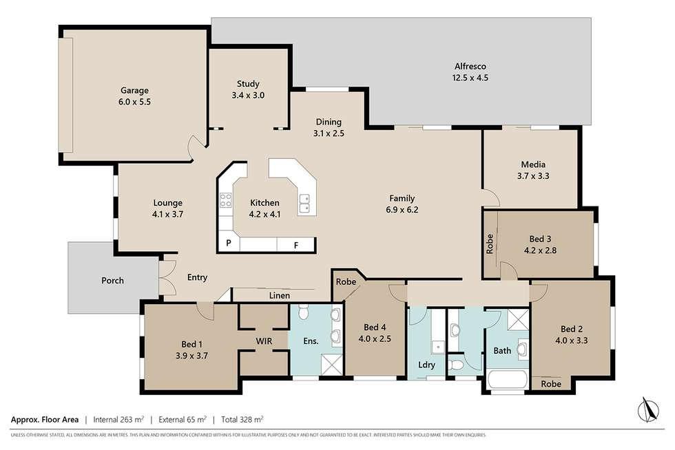 Floorplan of Homely house listing, 11 Blue Wren Place, Heritage Park QLD 4118