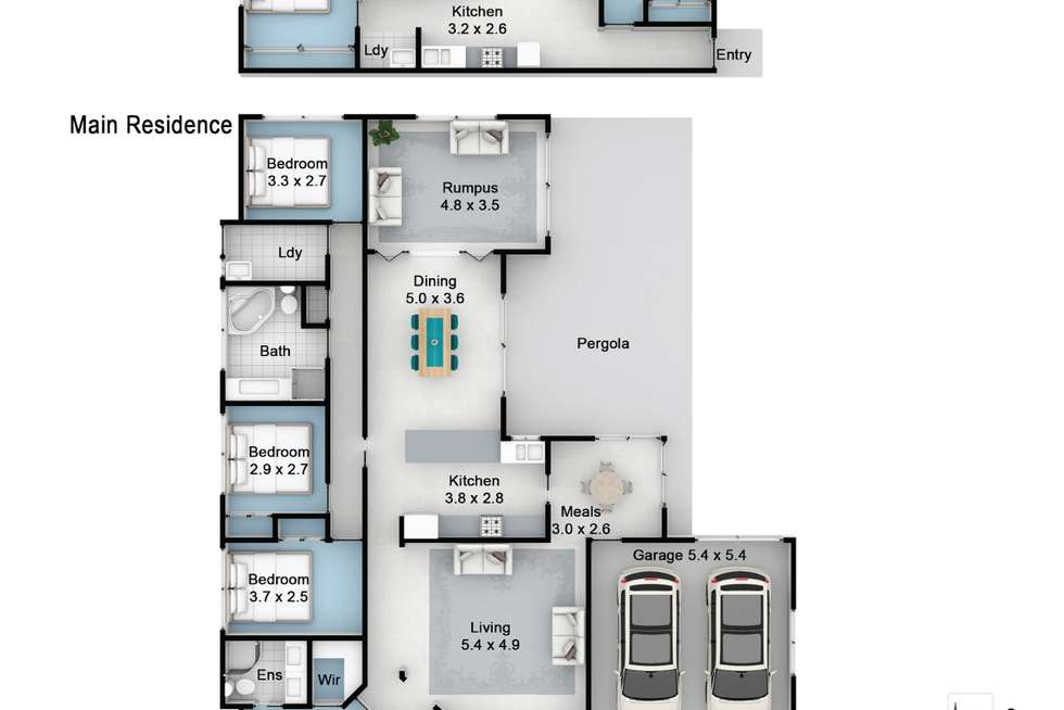 Floorplan of Homely house listing, 109 Summerfield Avenue, Quakers Hill NSW 2763