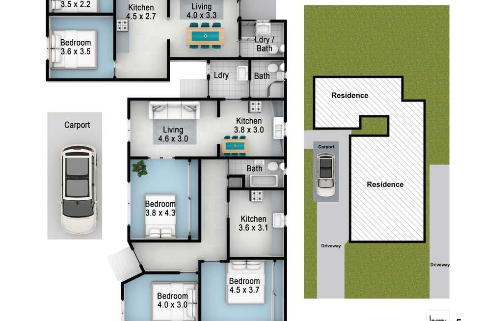 Floorplan of Homely house listing, 90 Hawksview Street, Guildford NSW 2161
