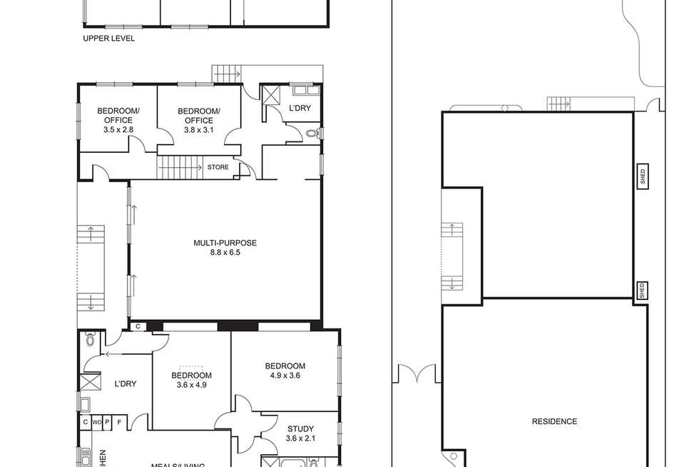 Floorplan of Homely house listing, 338 Ascot Vale Road, Moonee Ponds VIC 3039