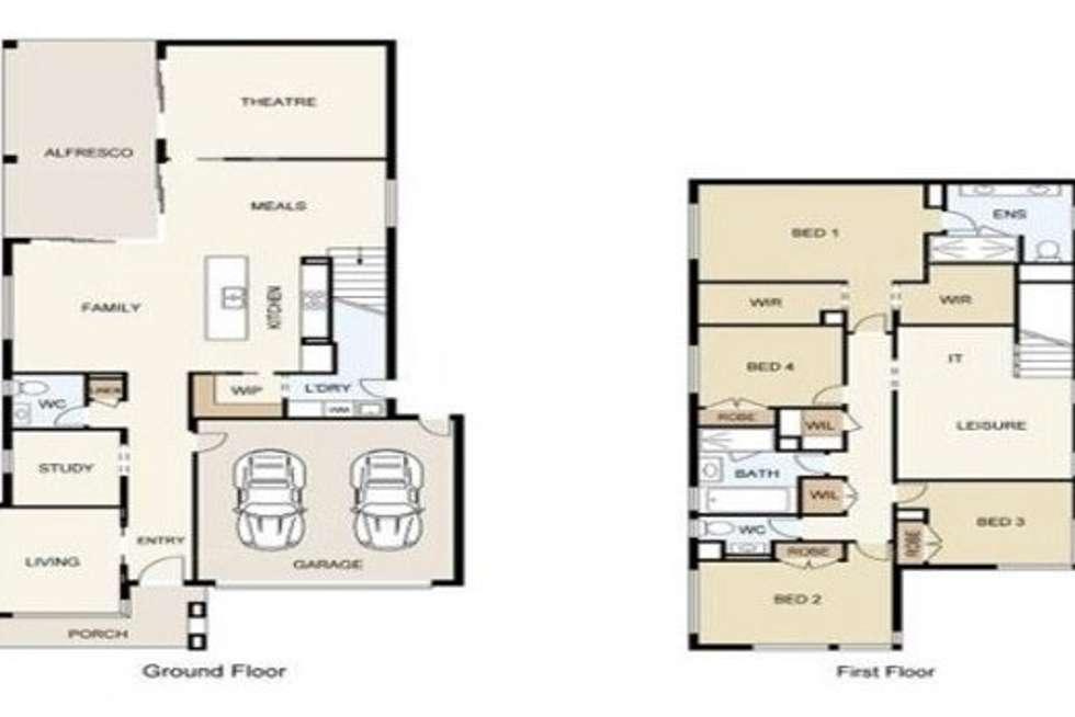 Floorplan of Homely house listing, 240-242 William Humphreys Drive, Mundoolun QLD 4285