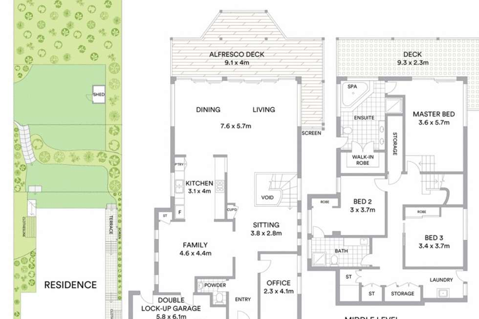 Floorplan of Homely house listing, 12 Pall Mall Avenue, Currumbin QLD 4223