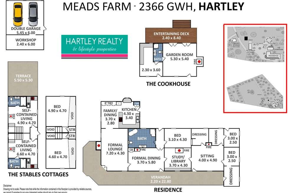 Floorplan of Homely acreageSemiRural listing, 2366 GREAT WESTERN HIGHWAY, Little Hartley NSW 2790