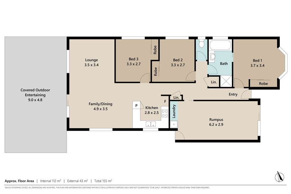 Floorplan of Homely house listing, 16 Geaney Boulevard, Crestmead QLD 4132