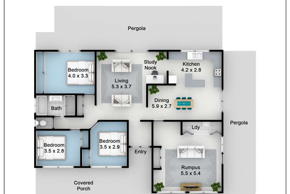 Floorplan of Homely house listing, 57 Horseshoe Circuit, St Clair NSW 2759