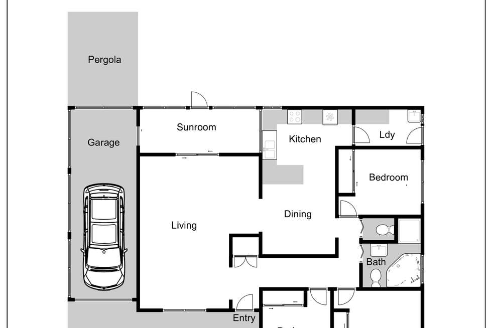 Floorplan of Homely house listing, 5 Daintree Glen, St Clair NSW 2759