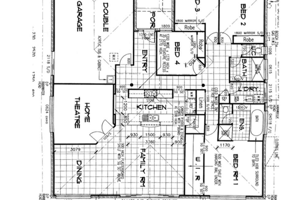 Floorplan of Homely house listing, 24 Peta Court, Cedar Vale QLD 4285