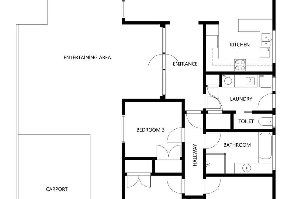 Floorplan of Homely house listing, 126 Wyatt Street, Deniliquin NSW 2710
