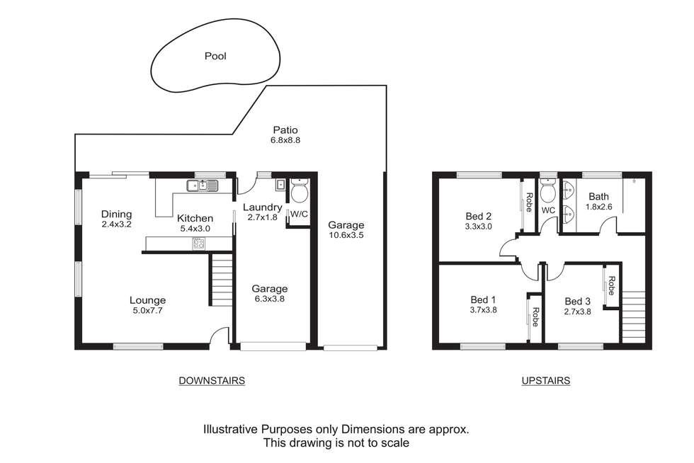 Floorplan of Homely house listing, 28 Andrea Close, Mooroobool QLD 4870