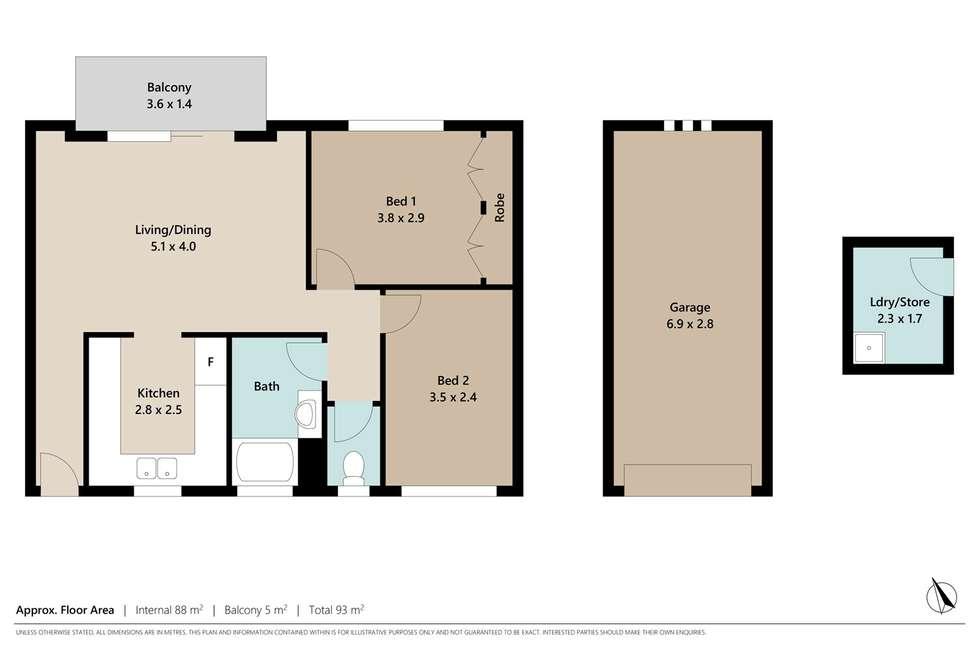 Floorplan of Homely unit listing, 5/10 Stuckey Road, Clayfield QLD 4011