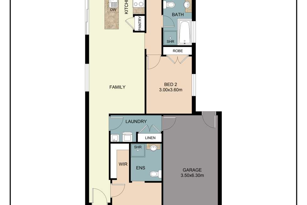 Floorplan of Homely house listing, 113 Cooper Crescent, Rochedale QLD 4123