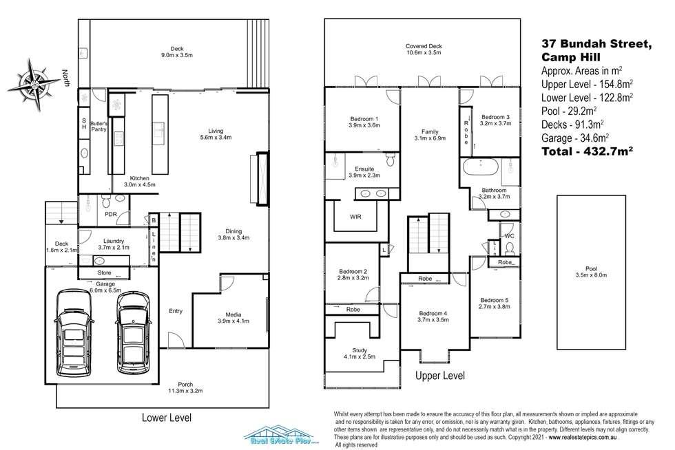 Floorplan of Homely house listing, 37 Bundah Street, Camp Hill QLD 4152
