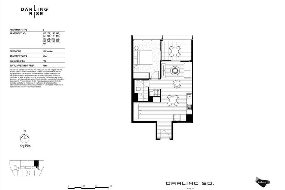 Floorplan of Homely apartment listing, 1704/82 Hay Street, Haymarket NSW 2000