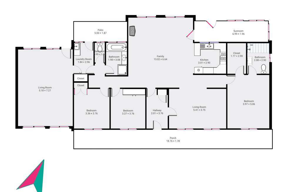 Floorplan of Homely house listing, 50 Bonny Hills Drive, Little Hartley NSW 2790