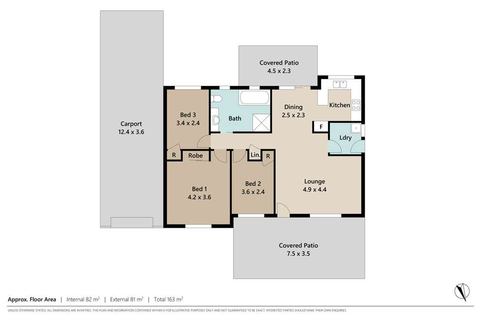 Floorplan of Homely house listing, 12 Hysten Street, Boronia Heights QLD 4124