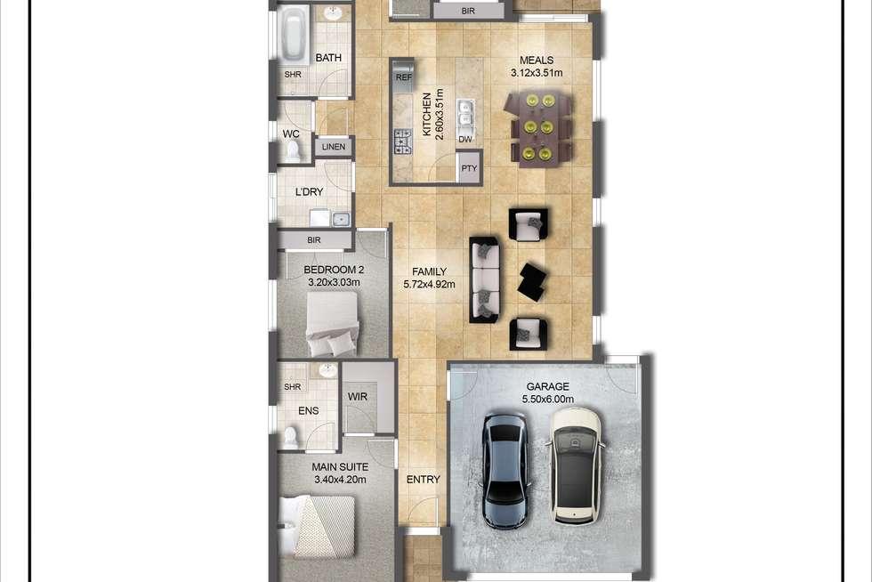 Floorplan of Homely house listing, 10 Rider Court, Tarneit VIC 3029