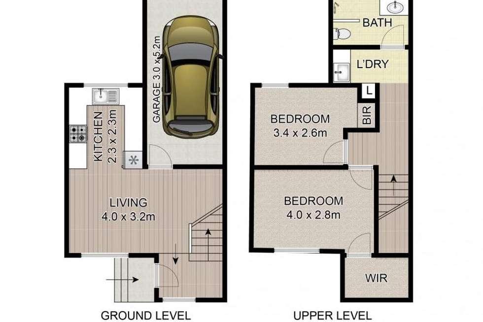 Floorplan of Homely apartment listing, 5/6 Duet Drive, Mermaid Waters QLD 4218