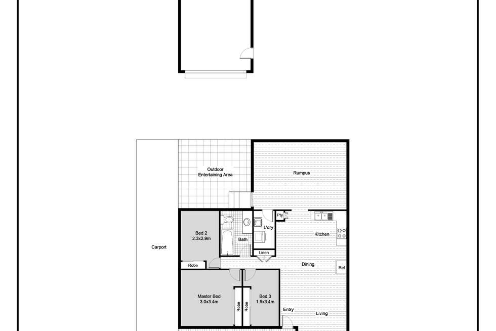 Floorplan of Homely house listing, 12 Dorothy Avenue, Basin View NSW 2540