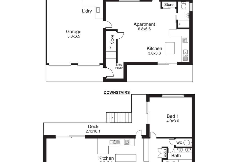 Floorplan of Homely house listing, 12 Knight Road, Smithfield QLD 4878