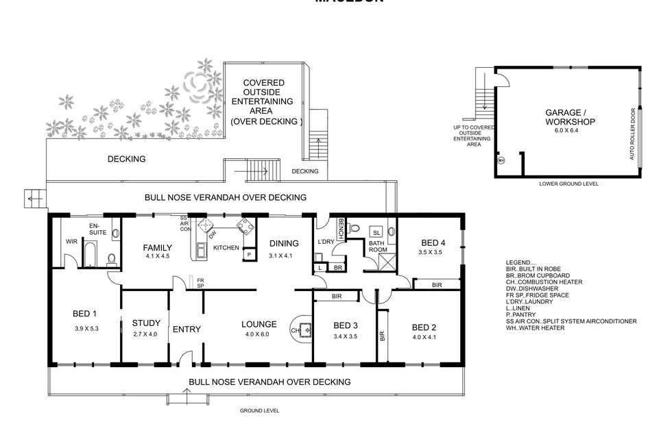 Floorplan of Homely house listing, 71 Greene Street, Macedon VIC 3440
